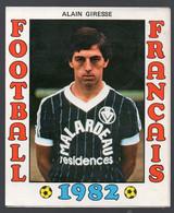 FOOTBALL FRANCAIS 1982 : ALAIN GIRESSE  (Bordeaux)  (PPP28798C) - Sports