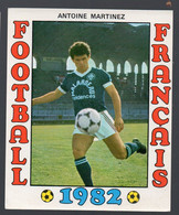 FOOTBALL FRANCAIS 1982 : ANTOINE MARTINEZ  (Bordeaux)  (PPP28798A) - Sports