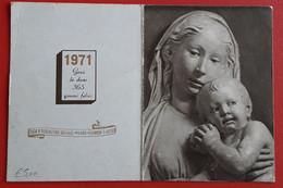 Calendarietto Religioso Anno 1971 - Small : 1971-80