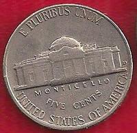 ETATS-UNIS 5 CENTS - 1960 - 1938-…: Jefferson