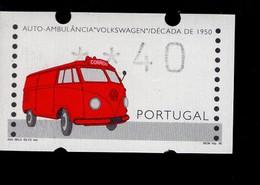 12 Rettungsdienst VW (4) ** Postfrisch, MNH, Neuf - Automatenmarken (ATM/Frama)