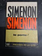 La Porte Simenon 1965  +++BE+++ LIVRAISON GRATUITE+++ - Belgian Authors