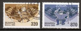 Belarus  Europa Cept 2004  Gestempeld - 2004