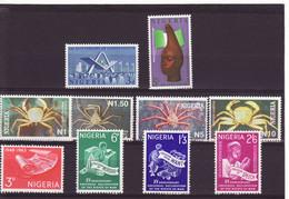 4733r) Nigeria MNH Handicrafts 3 Sets Crab Human Rights - Nigeria (1961-...)
