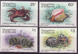 4731r) Grenadines MNH Shell Set - St.Vincent (1979-...)