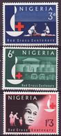 4735r) Nigeria MNH Red Cross Set - Nigeria (1961-...)