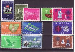 4736r) Nigeria MNH 3 Sets Malaria - Nigeria (1961-...)