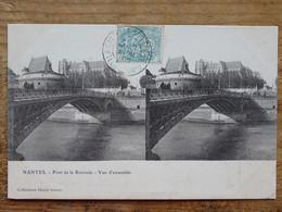 CPA (44) Loire Atlantique - NANTES - Pont De La Rotonde - Vue D'ensemble - Carte Stéréoscopique - Nantes