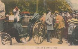 Tour De France 1910-A Metz, Le Comte Zeppelin Attendant Les Coureurs.  Scn - Ciclismo