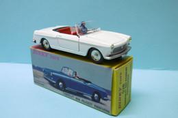 Dinky Toys / Atlas - PEUGEOT 404 Cabriolet Pininfarina Blanc Réf. 528 Neuf NBO 1/43 - Dinky