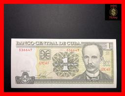 CUBA  1 Peso  2010  P. 128  UNC - Cuba