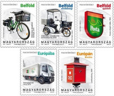 Hungary - 2021 - Postal History V - Mint Stamp Set - Neufs