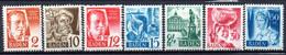 Allemagne Baden: Yvert N° 14/21** Sauf Le 15 Le 18(*) - French Zone