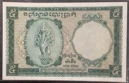 Indochina Indochine Vietnam Viet Nam Laos Cambodia 5 Piastres AU-UNC Banknote Note / Billet 1953 - Pick# 95 / 02 Photo - Indochina