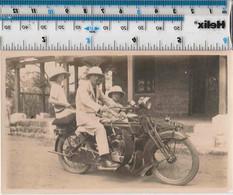 MILITARY V-TWIN PITHE HELMETS - MOTORCYCLE / MOTORRAD - Motos