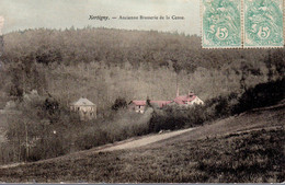 XERTIGNY  -  Ancienne Brasserie De La Cense. -  Carte Colorisée - Xertigny