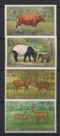 Thailand - 1976 - N°Yv. 799 à 802 - Faune / Animals - Neuf Luxe ** / MNH / Postfrisch - Thailand