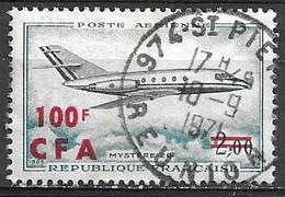 REUNION 1967 Poste Aérienne Mystère 20  Yvert N°61 Oblitéré - Airmail