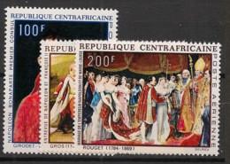Centrafricaine - 1969 - Poste Aérienne PA N°Yv. 78 à 80 - Napoléon - Neuf Luxe ** / MNH / Postfrisch - Central African Republic