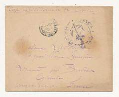 Corps Expéditionnaire De Chine - 1901-1902 - 2 Lettres En Franchise Dont L'une Avec Correspondance - Briefe U. Dokumente