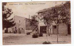 CPA Sète Cette 34 Hérault Villas La Macreuse Et L' Alouette Fondée Par Eglise Réformée éditeur Du Nouveau Lazaret - Sete (Cette)