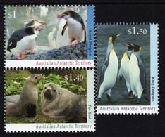 Australian Antarctic Territory (AAT) - 1993 - Antarctic Wildlife - Mint Stamp Set - Neufs