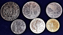 SERIE REGNO IMPERO 1940 MAGNETICA / AMAGNETICA LIRE 2-1 CENT.50-20-10-5 SPL/FDC - 1900-1946 : Victor Emmanuel III & Umberto II