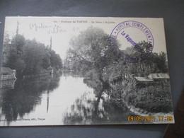Troyes Hopital Temporaire 6 Cachet Franchise Postale Guerre 14.18 - 1. Weltkrieg 1914-1918