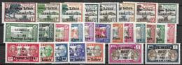 Wallis France Libre 25 Bons Timbres Nc * Mh * + 2 Avec Fautes (3Fr Pli, 5Fr 1mm Aminci) 140 Euros - Unused Stamps