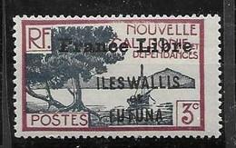 Wallis France Libre Nc * Mh * 100 Euros - Unused Stamps