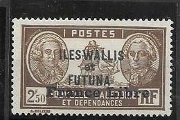 Wallis France Libre Nc * Mh * 200 Euros - Unused Stamps