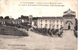 FR66 PERPIGNAN - Couderc - Hospices Civils Maréchal Joffre 5 - Chapelle  Pavillon D'Oculistique Et Laryngologie - Perpignan