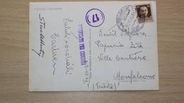 STORIA POSTALE OCCUPAZIONE SLOVENIA LUBIANA LJUBLJANA 1 CARTOLINA - Lubiana