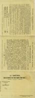 NAPOLI - LA SANITARIA - SOCIETA PEL COMMERCIO DI SIERI VACCINI DIAGNOSTICI - CARTOLINA TRIPLA - 1909/1910 (7234) - Napoli (Naples)