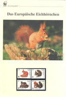 Slowenien 2007 - WWF Das Europäische Eichhörnchen - Komplettes Kapitel Postfrisch MK FDC - Unclassified