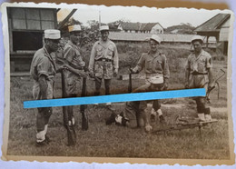 1945 1948 Indochine 13 Eme Demi-brigade Légion étrangère Sten Bren Lee Enfield DBLE Vietminh Mékong Caodaïste Binh Xuen - Guerra, Militari