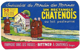 Etiqu From. BITTNER à CHATENOIS Vosges - Cheese