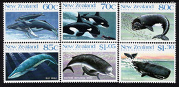 Ross Dependency - 1988 - Whales - Mint Stamp Set - Unused Stamps