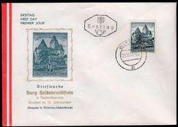 Austria Vienna 1957 / Burg Heidenreichstein Castle / FDC - Castillos