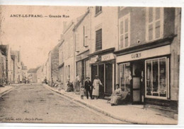 Ancy-Le-Franc-Grande Rue - Ancy Le Franc