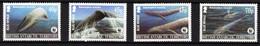 British Antarctic Territory (BAT) - 2003 - WWF - Blue Whale - Mint Stamp Set - Unused Stamps