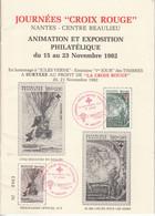 Boekje Van Timbres Croix-Rouge Francaise 44 Nantes - Briefe U. Dokumente