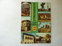 FIGEAC - Multivues - Cité Médiévale - Figeac