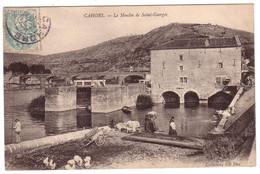 CAHORS - Le Moulin De St-Georges Avec Laveuses - Cahors