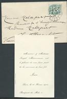 Faire Part De La Naissance De Jean Maisonneuve à Laon Le 16 Fevrier 1904 -  Mala9204 - Geboorte & Doop