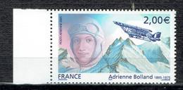 Hommage à L'aviatrice Adrienne Bolland - 1960-.... Mint/hinged