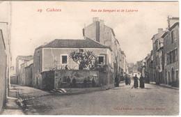 CAHORS - Rue Du Rempart Et De  Labarre - Cahors