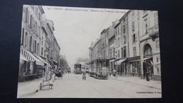 NANCY - Rue Des Quatre églises - Terminus Des Tramways Suburbains - Nancy