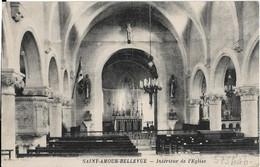 Saint Amour Bellevue : Intérieur De L'église - Sonstige Gemeinden