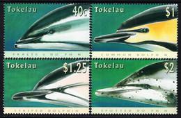 Tokelau - 1996 - Dolphins - Mint Stamp Set - Tokelau